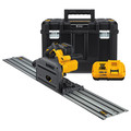 Dewalt DCS520ST1 FLEXVOLT 60V MAX 6-1/2 in. (165mm) Cordless Track Saw Kit with 59 in. Track image number 0
