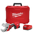 Milwaukee 2470-21 M12 12V Cordless Lithium-Ion PVC Shear Kit image number 0