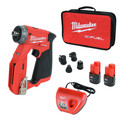 Milwaukee 2505-22 M12 FUEL Brushless Lithium-Ion 3/8 in. Cordless Installation Drill Driver Kit (2 Ah) image number 0
