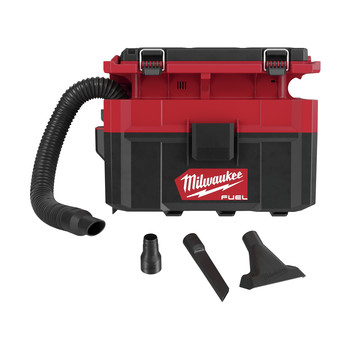 Milwaukee 0970-20 M18 FUEL PACKOUT Lithium-Ion Brushless 2.5 Gallon Cordless Wet/Dry Vacuum (Tool Only)