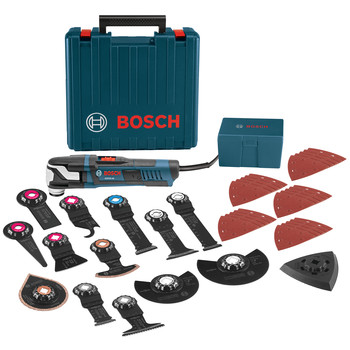 Bosch GOP55-36C2 5.5 Amp StarlockMax Oscillating Multi-Tool Kit with 40-Piece Accessory Kit image number 0