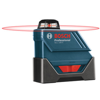 Bosch GLL-150-ECK Self-Leveling 360 Degree 500 ft. LR3 Exterior Laser Kit image number 1