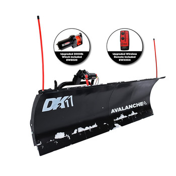 Detail K2 AVAL8422 Avalanche 84 in. x 22 in. T-Frame Snow Plow Kit image number 7
