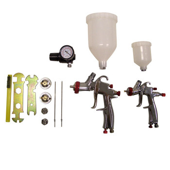 SPRAYIT 33500K LVLP Gravity Feed Spray Gun Kit