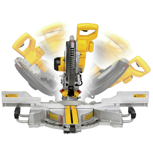 Factory Reconditioned Dewalt DWS780R 12 in  Double Bevel Sliding Compound  Miter Saw