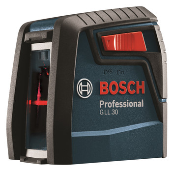 Bosch GLL30 30 ft. Self-Leveling Cross-Line Laser image number 0