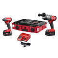 Milwaukee 2897-22PO M18 FUEL 2 PC Combo Kit with FREE PACKOUT Case