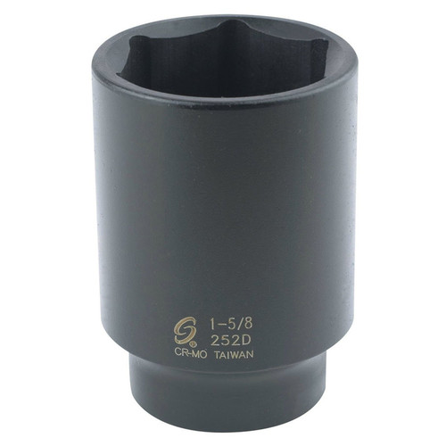 Sunex 252D 1/2 in. Drive 6-Point 1-5/8 in. Deep Impact Socket