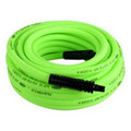 Legacy Mfg. Co. HFZ1250YW4 1/2 in.  x 50 ft. Flexzilla ZillaGreen Air Hose with 1/2 in. MNPT Ends & Bend Restrictors