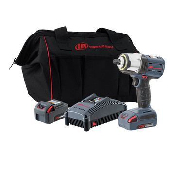 Ingersoll Rand W5133-K22 Brushless Lithium-Ion 1/2 in. Cordless Impact Wrench Kit (5 Ah)