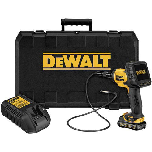 Dewalt DCT412S1 12V MAX Cordless Lithium-Ion 5.8mm Inspection Camera with Wireless Screen Kit