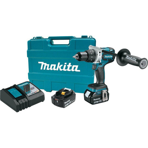 Makita XFD07MB 18V LXT 4.0 Ah Cordless Lithium-Ion Brushless 1/2 in. Driver Drill Kit