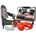 SENCO PC0947 FinishPro 18-Gauge Brad Nailer Compressor Combo Kit