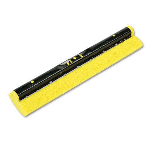 Rubbermaid 6436YEL 12 in. Sponge Mop Head Refill for Steel Roller (Yellow)