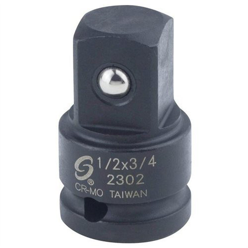 Sunex 2302 1/2 in. Drive 1/2 in. Female x 3/4 in. Male Adapter image number 0
