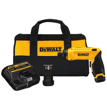 Factory Reconditioned Dewalt DCF680N2R 8V MAX Cordless Lithium-Ion Gyroscopic Screwdriver Kit with 2 Compact Batteries