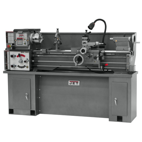 JET BDB-1340A 13 in. x 40 in. Bench Lathe with Collet and Taper image number 0
