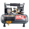 SENCO PC1010 1/2 HP 1 Gallon Oil-Free Hand-Carry Compressor