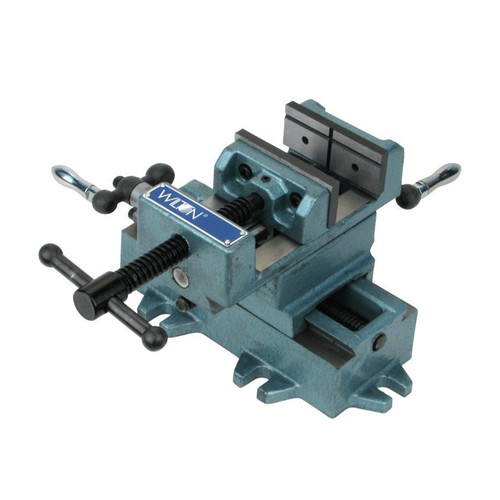 Wilton 11696 Cross Slide Drill Press Vise - 6 in. Jaw Width, 6 in. Jaw Opening, 6 in. Jaw Depth image number 0