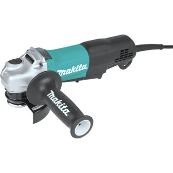 Makita GA5053R 11 Amp Compact 4-1/2 in./5 in. Corded Paddle Switch Angle Grinder with Non-Removable Guard