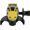 Dewalt DCG415W1 20V MAX XR Brushless Lithium-Ion 4-1/2 in. - 5 in. Small Angle Grinder with POWER DETECT Tool Technology Kit (8 Ah) image number 3