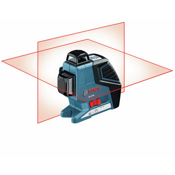 Factory Reconditioned Bosch GLL3-80-RT 360 Degree 3-Plane Leveling and Alignment Line Laser image number 2