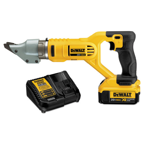 Dewalt DCS494M2 20V MAX XR Cordless Lithium-Ion 14-Gauge Swivel Head Shear Kit image number 0