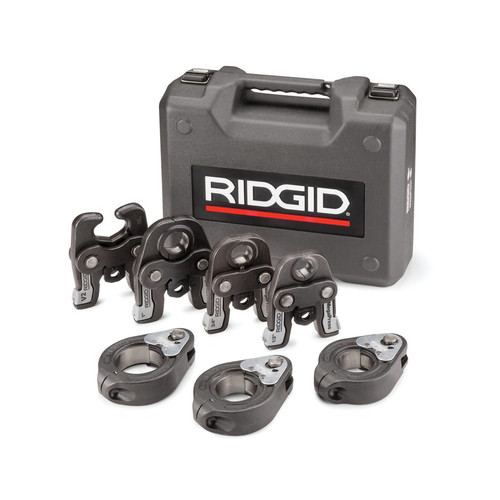 Ridgid 48553 Standard Jaws and Rings Kit for 1/2 in. to 2 in. Viega MegaPress Fitting System image number 0