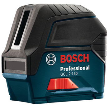 Factory Reconditioned Bosch GCL2-160-RT Self-Leveling Cross-Line Laser with Plumb Points image number 0