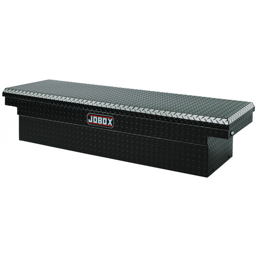 Delta PAC1580002 Aluminum Single Lid Full-size Crossover Truck Box (Black)
