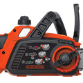 Black & Decker LCS1020 20V MAX Brushed Lithium-Ion 10 in. Cordless Chainsaw Kit (2 Ah) image number 4