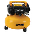Factory Reconditioned Dewalt DWFP55126R 0.9 HP 6 Gallon Oil-Free Pancake Air Compressor image number 0