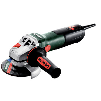 Metabo 603623420 W 11-125 Quick 11 Amp 11,000 RPM 4.5 in. / 5 in. Corded Angle Grinder with Lock-on