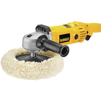 Dewalt DWP849 12 Amp 7 in./9 in. Electronic Variable Speed Polisher image number 5