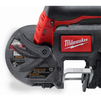 Milwaukee 2429-21XC M12 12V Cordless Lithium-Ion Sub-Compact Band Saw Kit with XC Battery image number 3