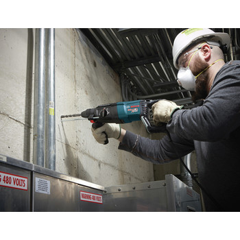Factory Reconditioned Bosch 11255VSR-RT 1 in. SDS-plus D-Handle Bulldog Xtreme Rotary Hammer image number 2