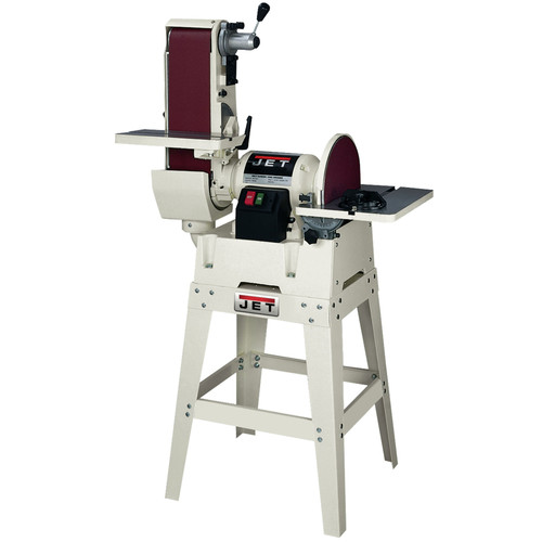 JET JSG-6DCK 6 in. x 48 in. Belt / 12 in. Disc Combination Sander with Open Stand