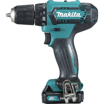 Makita FD09R1 12V max CXT Lithium-Ion Brushless 3/8 in. Cordless Drill Driver Kit (2 Ah) image number 2