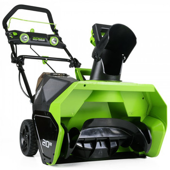 Greenworks 26272 40V G-MAX Li-Ion 20 in. Snow Thrower image number 2