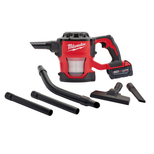 Milwaukee 0882-20 M18 18V Cordless Lithium-Ion Compact Vacuum (Tool Only) image number 3
