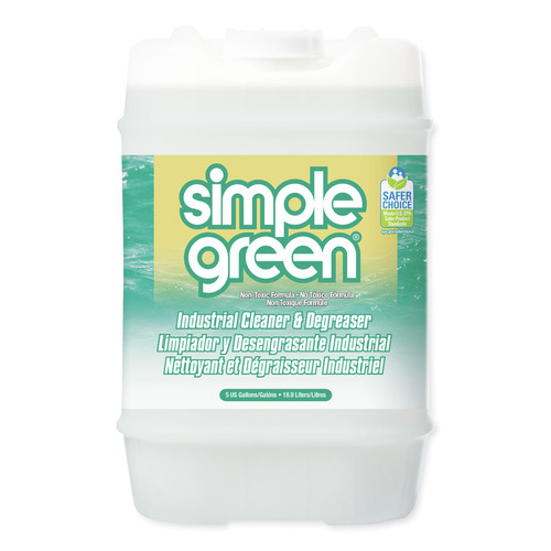 Simple Green 2700000113006 5 Gallon Concentrated Industrial Cleaner and Degreaser image number 0