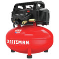 Factory Reconditioned Craftsman CMEC6150R 0.8 HP 6 Gallon Oil-Free Pancake Air Compressor image number 2
