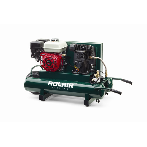 Rolair 4090HMK103-0001 5.5 HP 9 Gallon Oil-Splash Wheelbarrow Air Compressor image number 0