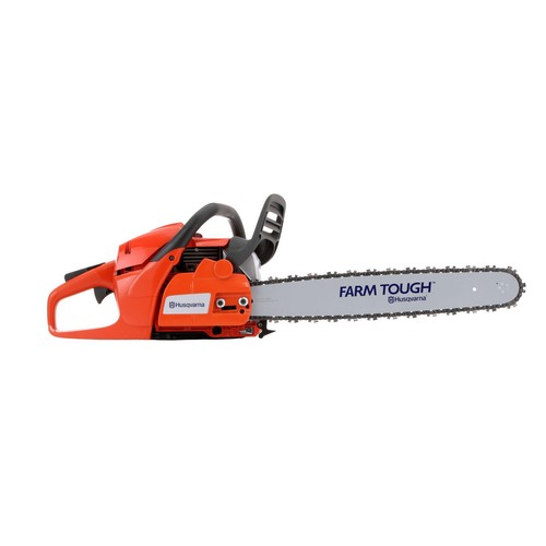 Husqvarna 965030298 Rancher 55 5cc Gas 20 in  Rear Handle Chainsaw