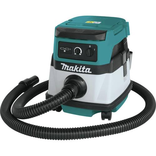 Makita XCV04PT 18 volts X2 LXT Cordless Corded 2.1 Gallon HEPA Dry Vacuum Kit