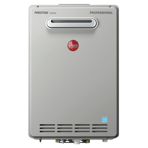 Rheem RTGH-95XLP-2 Prestige 9.5 GPM Liquid Propane High Efficiency Outdoor Tankless Water Heater
