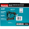 Makita XTP02Z 18V LXT Lithium-Ion Cordless 23 Gauge Pin Nailer (Tool Only) image number 8
