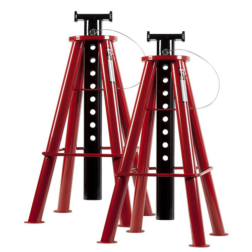 Sunex 1410 10 Ton High Height Pin Type Jack Stands (Pair)