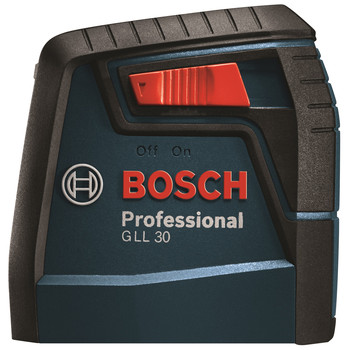 Bosch GLL30 30 ft. Self-Leveling Cross-Line Laser image number 2