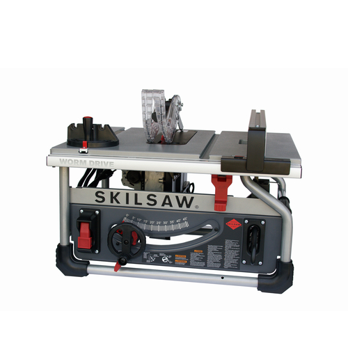 Skilsaw spt70wt 22 10 in benchtop worm drive table saw greentooth Choice Image